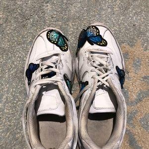 Custom fila shoes